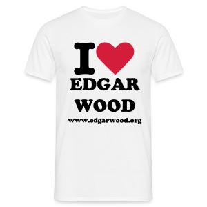 I Love Edgar Wood - Men's T-Shirt