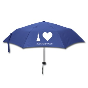Schirm: I love Düdinghausenv - Silhouette - Regenschirm (klein)