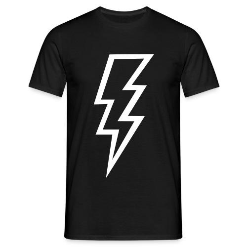 camiseta clasica rayo - Camiseta hombre