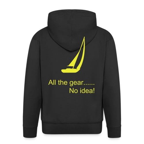 Mens sailing hoodie - Men's Premium Hooded Jacket