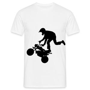 Kulman hakua t-paita - Miesten t-paita