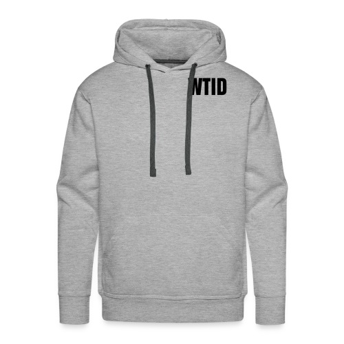 WTID - Grey/Black - Men's Premium Hoodie