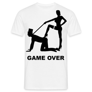 Game over! - Mannen T-shirt