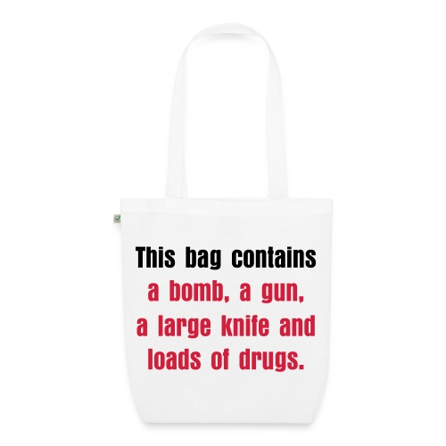 This Bag Contains Tote Bag - EarthPositive Tote Bag