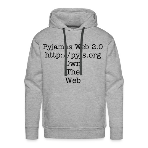 Own the Web, you Hoodie Vandal. - Men's Premium Hoodie