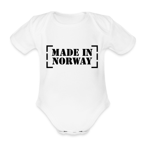 Made_in_Norway - Organic Short-sleeved Baby Bodysuit
