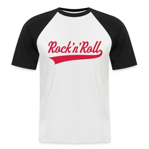 Rock 'n Roll - Mannen baseballshirt korte mouw