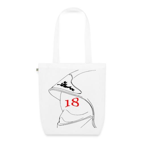 Sac en tissu biologique - 112,18,France,Sapeurs,alarme,botte,casque,extincteur,feu,grade,incendie,lance,pompiers,professionnel,sauvetage,secourisme,sécurité,veste,volontaire