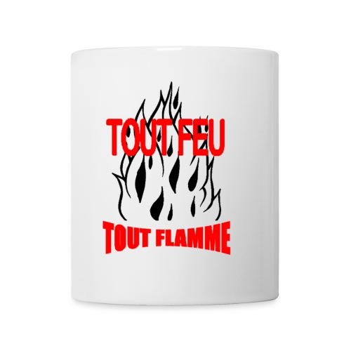Meug Tout Feu Tout Flammes - Mug blanc