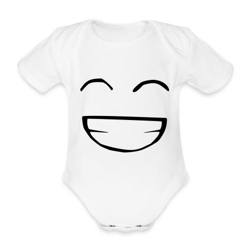p'tit body sourire - Body bébé bio manches courtes