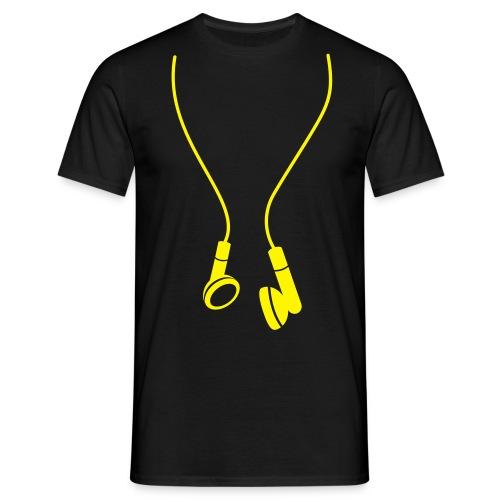 écouteur - T-shirt Homme