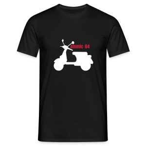 Atomic 64 classic PX Scooter t-shirt - Men's T-Shirt