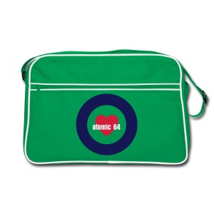 Atomic 64 Luved up Mod Target Retro Bag - Retro Bag