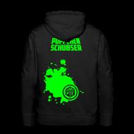 Pullover & Hoodies ~ Männer Premium Kapuzenpullover ~ Püppchen Schubser | Kaputzenpullover