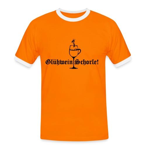 Glühweinschorle! - Männer Kontrast-T-Shirt