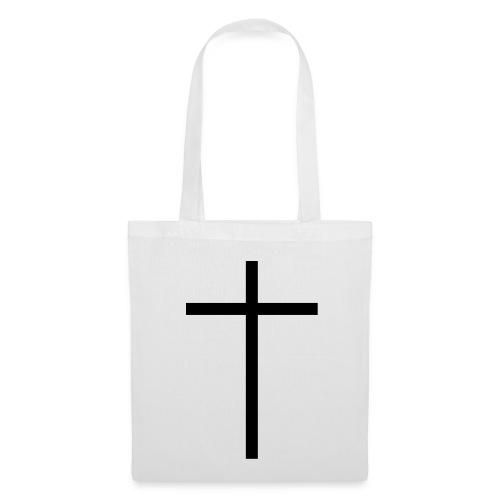 Hvid Taske Med Kors. - Mulepose
