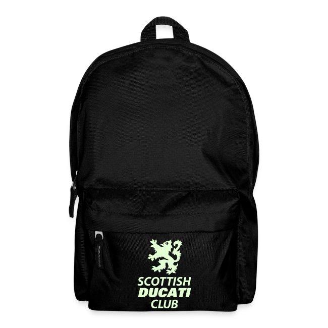 SDC backpack (glow in the dark)