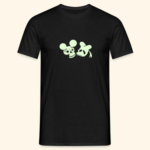 Ratón de los muertos, leuchtend - Männer T-Shirt