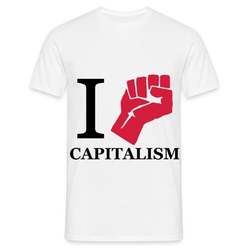 Capitalism - Men's T-Shirt