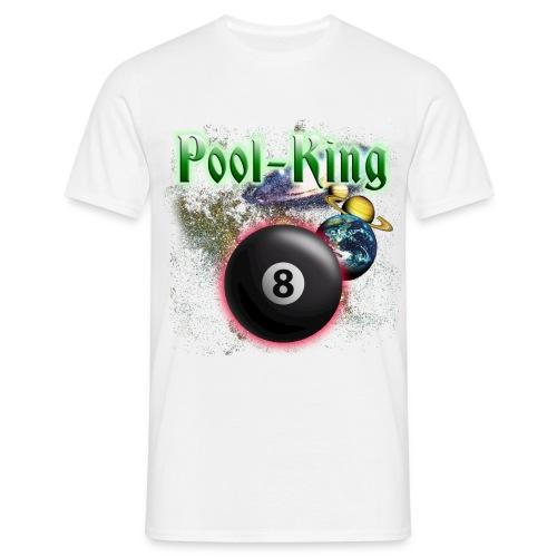 Pool King - Männer T-Shirt