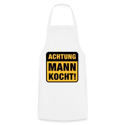 achtung mann kocht - Kochschürze