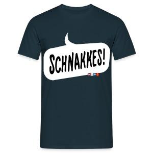 Schnakkes! - Men's T-Shirt