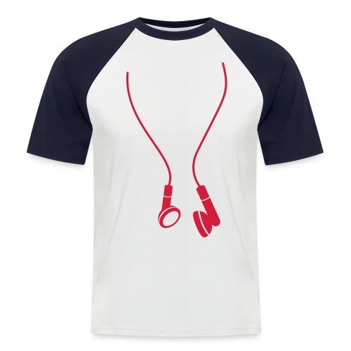 Unplugged - Men's Baseball T-Shirt
