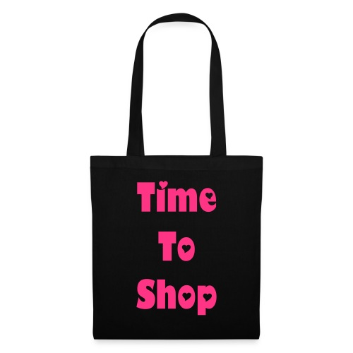 Time to shop tote bag! - Tote Bag