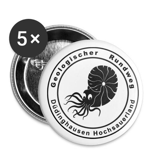 Buttons: Deologischer Rundweg - Buttons mittel 32 mm (5er Pack)