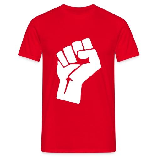 camisa clasica puño cerrado - Camiseta hombre