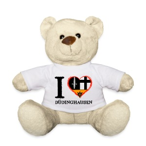 Teddy: I love - gekrikelt - Teddy