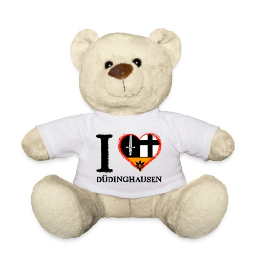 Teddy: I love - gekrikelt - Teddy