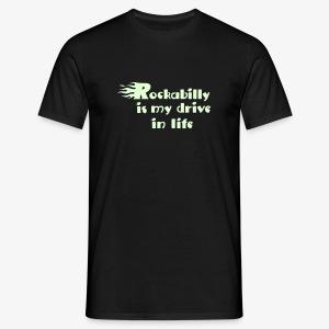 Glowin' Rockabilly :) - Men's T-Shirt