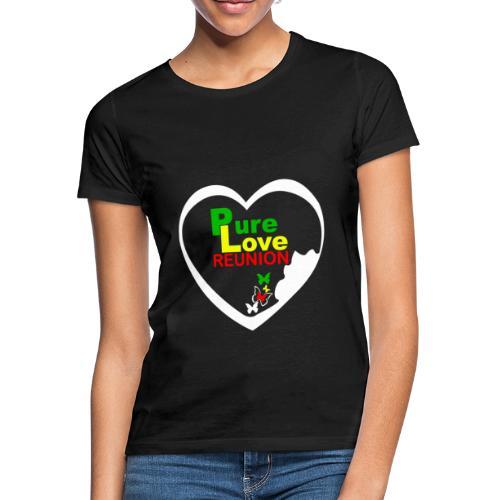 T-shirt Classique Femme Vraie Amour Réunion - T-shirt Femme