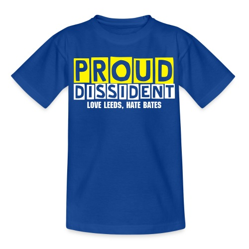 Proud Dissident Tee - Kids - Teenage T-Shirt