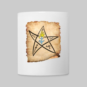TT: The Elder sign according to August Derleth description - Mug