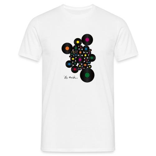 its_music bw - Männer T-Shirt