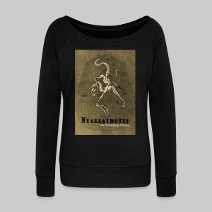 FPU: Nyarlathotep - The Crawling Chaos - Women's Boat Neck Long Sleeve Top