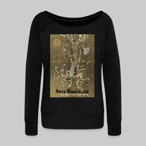 FPU: Shub-Niggurath - The Black Goat of the Woods - Women's Boat Neck Long Sleeve Top