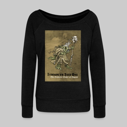 FPU: Deep One  - The Esoteric Order of Dagon - Women's Boat Neck Long Sleeve Top