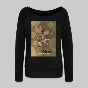 FPU: Mi-Go - Fungi from Yuggoth - Women's Boat Neck Long Sleeve Top