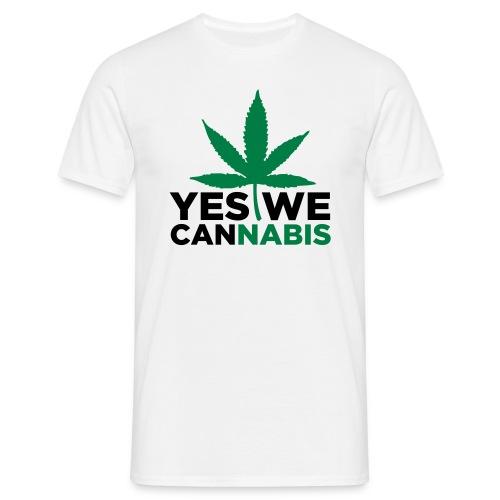 Yes we Cannabis - Männer T-Shirt