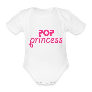 BABY POP - Organic Short-sleeved Baby Bodysuit