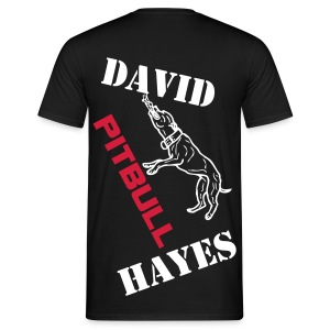 David Pitbull Hayes supporters t-shirt - Men's T-Shirt