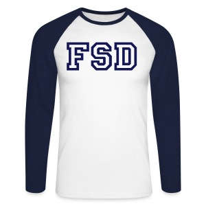FSD Uni Boys Tee - Men's Long Sleeve Baseball T-Shirt