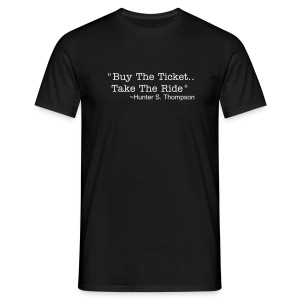 Hunter S. Thompson Mens t shirt - Men's T-Shirt