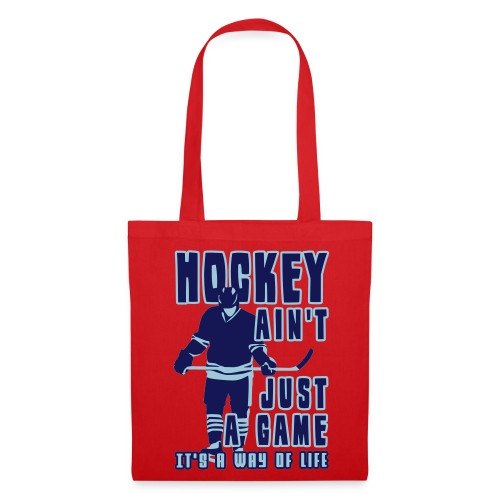 'Hockey Ain't Just A Game' Tote Bag - Tote Bag