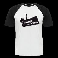 T-Shirts ~ Männer Baseball-T-Shirt ~ Hannover - Keks - BoyBaseball