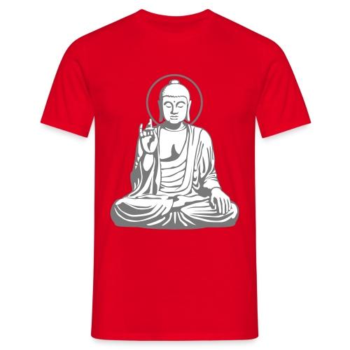 Rockin Buddha - Männer T-Shirt