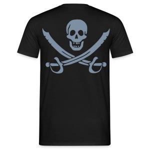 Silver Pirate - Männer T-Shirt